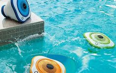 These Floating LED Speakers Are Sure to Light Up Your Next Pool Party