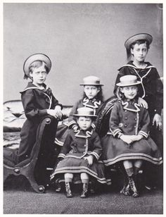 Royalty, Children King Edward & Queen Alexandra photo | Collectibles, Postcards, Royalty | eBay!
