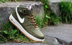 "Nike Air Force 1 Mid 07 ""Medium Olive"""