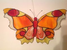 Butterfly stained glas