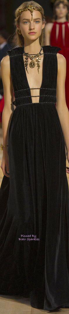 Modern Goddess Haute Gown. FALL COUTURE 2015 VALENTINO (Rome) ~ ♕♚εїз   BLAIR SPARKLES  