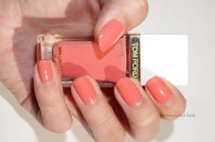 Tom Ford Spring 2014 Nail Lacquers | Sugar Dune, Coral Beach, Incandescent and Indiscretion | The Beauty Look Book