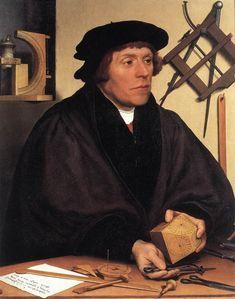 Portrait of Nikolaus Kratzer, circa 1528