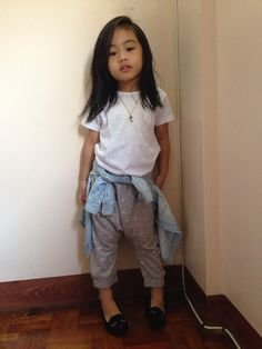 Joggers for her doctor's appointment #kidsootd #fashionkids #kidsfashion #kids