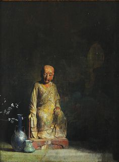chinese figure still life by hovsep pushman Painting Still Life, Still Life Art, Paintings Famous, Art Paintings, Still Life Flowers, Oil Painting For Sale, Small Sculptures, Hyperrealism, Impressionist Paintings