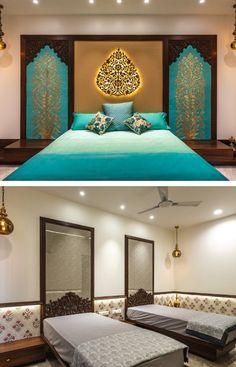 28 Super Ideas Home Bedroom Decor Head Boards Bedroom Bed Design, Modern Bedroom Decor, Bedroom Furniture Design, Trendy Bedroom, Home Bedroom, Bedroom Wardrobe, Modern Decor, Bedroom Small, Modern Design