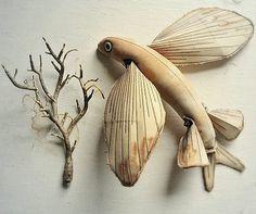 Textile Fish, Finch.
