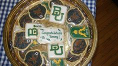 #Baylor graduation cookies! (Cookies from lifesabatch.com)