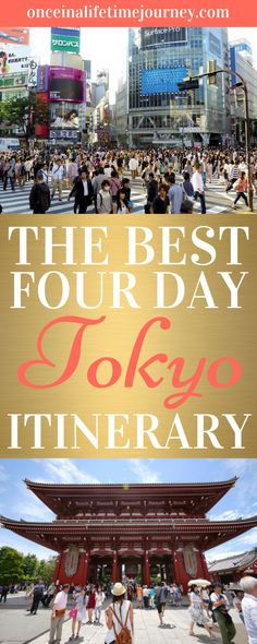 The best of Tokyo in 4 days with a full itinerary of all the must-see locations - Tami Japan Travel Guide, Tokyo Travel, Asia Travel, Travel Guides, Meiji Shrine, Visit Japan, Tokyo Japan, Japan Trip, Tokyo Trip
