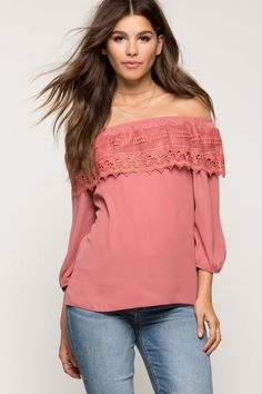 A'GACI   Crochet Off Shoulder Top   #Agaci