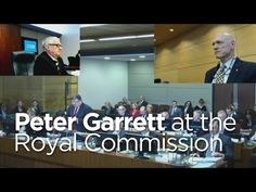 Peter Garrett fronts Abbott's Royal Commission #auspol