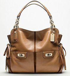 coach handbags Coach Leather Hamptons Carryall Bag Purse Black F  13084-100% Authentic acdd7e70cbe52