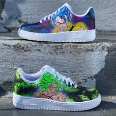 vs made for (Visit my website to place a order ) Custom Jordans, Custom Sneakers, Custom Shoes, Customised Shoes, Cute Nike Shoes, Cute Nikes, Dragon Ball, Marvel Shoes, Nike Shoes Air Force