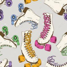 roller derby patines dibujo - Buscar con Google