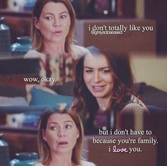 Meredith and Amelia