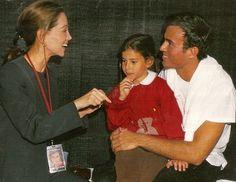 "Enrique Iglesias, Isabel Preysler and  Ana Boyer Preysler _ Chicago ""Vivir world tour"""