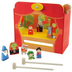 _Beautiful memories...***Sevi Magnetic Wooden Puppet Theater