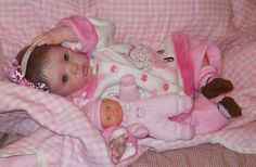 Reborn Baby Girl 20 inches long  (Lullabye Dreams Nursery)