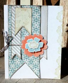 Layered Pennants by mistylynn - using array of sunshine stampin up set