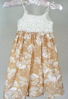 Baby Gap Villa Dress Sz 5T 5 Girls Crochet Bodice Summer #babyGap #Everyday