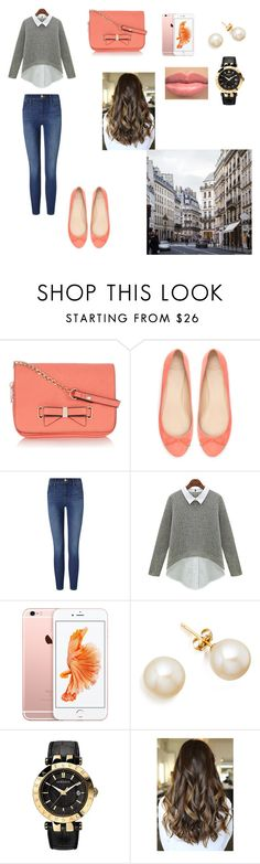 """""""Untitled #237"""" by paulamodeloguapa-1 ❤ liked on Polyvore featuring Oasis, Zara, Frame Denim and Versace"""