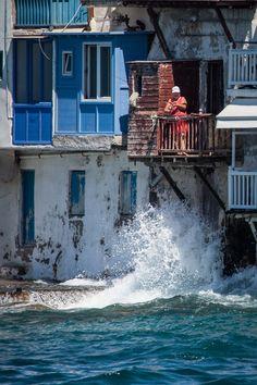 Fishing in Mykonos by Adam Brill on 500px