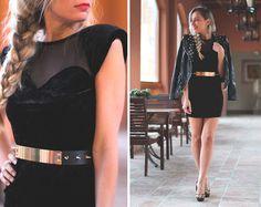 Black (by Priscila My Showroom) http://lookbook.nu/look/4248655-Black