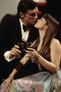 Hugh Hefner and Barbi Benton