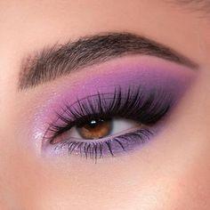 Purple Eyeshadow Looks, Purple Makeup Looks, Purple Eye Makeup, Edgy Makeup, Makeup Eye Looks, Colorful Eye Makeup, Eye Makeup Art, Skin Makeup, Eyeshadow Makeup