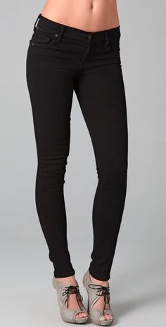 Pantalon de Mezclilla negro Tallas 5-13