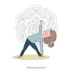Utthita Trikonasana, il triangolo esteso 🙏 #extendedtriangle #triangoloesteso #utthitatrikonasana #motivazione #yoga #meditazione #yogi #namaste #mindfulness #yogagirl #motivation #asana #yogini #yogapose #diarioyogaillustrato #yogaart #yogaillustration #miacarayogini #arteyoga #diarioyoga #arteyoga #inspiraespira #yogadoodle #yogaillustrators #mandala #om Yoga Illustration, Asana, Doodle, Triangle, Mandala, Snoopy, Illustrations, Artwork, Fictional Characters