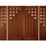 Whether your home is inspired by Art Deco style or features the streamlined geometry of Bauhaus design, Custom Wood exterior doors from our Art Deco Collection are the perfect complement. This collection includes a variety of modern designs, and many have decorative glass created by an architectural glass artist. These designs are shown in a selection of finish colors; they can also be enhanced with our paint options for a clean appearance thatメs well-suited to contemporary architecture.