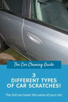 Car scratches are very common and impossible to avoid entirely. This article will explain the paint layers on your car and the 3 types of scratches that affect them. Car Scratches, Automatic Car Wash, Car Cleaning Hacks, Touch Up Paint, Ceramic Coating, Car Repair, Car Painting, 3 Things, Sport Cars