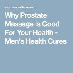 Prostate massage is a medical procedure to release the build up of toxins in the prostate gland, that lead to enlarged prostate and prostate infection. Massage For Men, Massage Tips, Massage Benefits, Massage Therapy, Peyronies Disease, Massage Pressure Points, Prostate Massage, Good Mental Health, Massage