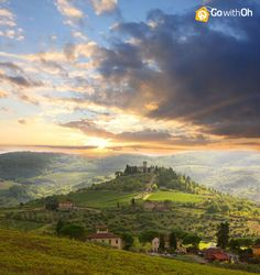 Day Trip from #Florence: Chianti Wine Country This may be the most beautiful place in the world! Don't miss it!  #GowithOh