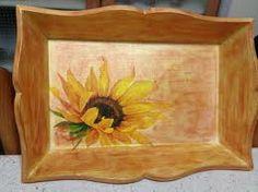 decoupage vassoio legno - Szukaj w Google