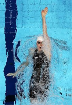Missy Franklin.... One of the best backstrokers ever!!