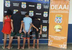 Adolescentes envolvidos em homicídio no bairro Tarumã são apreendidos Eles tem entre 13 e 17 anos Na tarde de terça-feira (19), a equipe da D