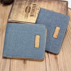 """Material    Jean Cloth      Color    Black,Brown,Grey      Lining    Polyester      Weight    70g      Vertical(Small)    Length    9.5cm(3.74"""")       Width    1.2cm(0.47"""")      Height    11.8cm(4.64"""")      Horizontal(Large)    Length    11.8cm(4.64"""")        Width    1.2cm(0.47"""")      Height    9.5cm(3.74"""")  …"""