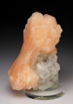 Stilbite with Apophyllite from India