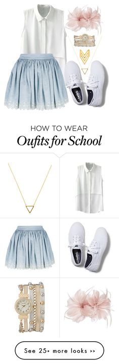 """School"" by katherine224 on Polyvore"