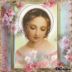 Holy Mary as young girl