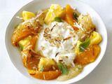 Pineapple-Citrus Salad with Coconut. Yum!