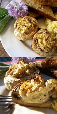 Stuffed Mushrooms | Easy'n Quick Recipes