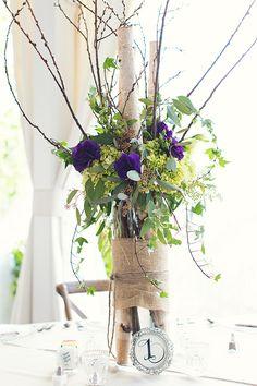 Garden Wedding Venue | Spring Centerpiece | Zach + Sarah Photography #springwedding