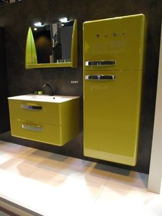 salle de bain esprit vintage