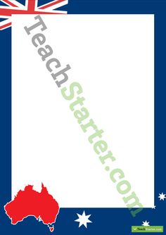 Australia Page Border | Teaching Resources - Teach Starter
