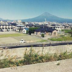 「大阪に向かっております。ふじやま!ふじやま!」