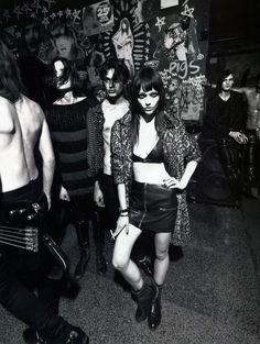 rock n roll | fashion editorial | leather | punk love | black & white | www.republicofyou.com.au