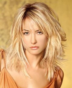 Shoulder length hairstyles, Shoulder length and Blondes on Pinterest
